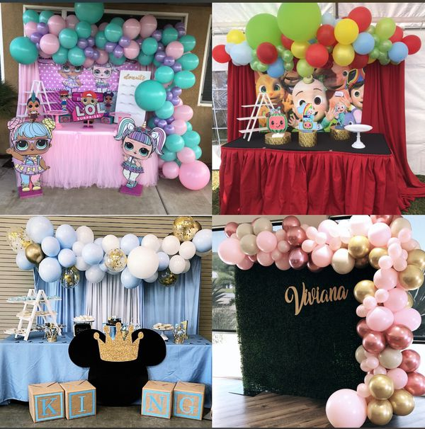 Balloon Garlands & Yard Signs, Balloon Bouquets Door Delivery No Contact