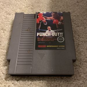 Mike Tyson's Punch Out NES Nintendo for Sale in Long Beach, CA