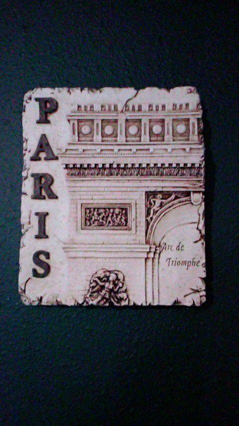3 pcs of Paris tower wall decoration ..