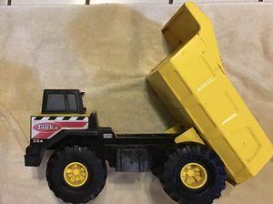 Large metal Tonka Dump Truck Toy Lemon Yellow Big Wheels for Sale in Fort Worth, TX