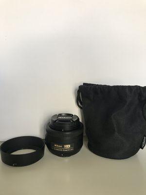 Nikon lense 35mm f/1.8 AF-S DX G for Sale in Orlando, FL