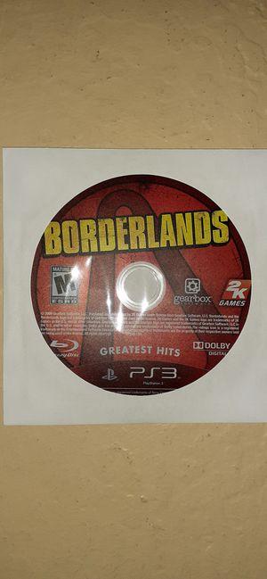 PS3 Borderlands for Sale in Buckeye, AZ