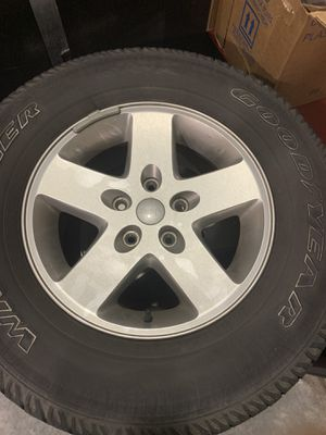 Stock Jeep rims for Sale in Olympia, WA