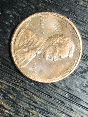 1990 Struck Through Error Penny RARE for Sale in West Milford, NJ