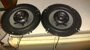 """Power acoustic 6.5"""" 2 way coaxial speakers for Sale in Columbus, OH"""