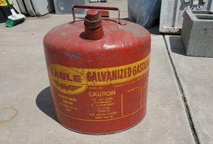 Eagle Galvanized Gasoline Can 5gal for Sale in Corona, CA