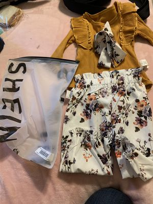 Shein babygirl outfit for Sale in San Antonio, TX