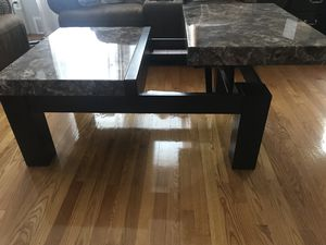 Marble Lift-Top coffee table for Sale in Philadelphia, PA