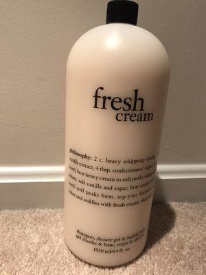 Philosophy Fresh Cream 3 in 1 wash for Sale in Ashburn, VA