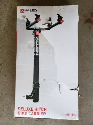 Bike carrier hitch mounted 2 bike deluxe model never opened for Sale in Ripon, WI