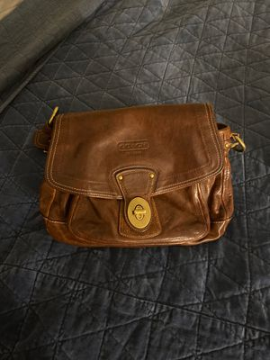Coach 65th anniversary vachetta leather legacy for Sale in Virginia Beach, VA