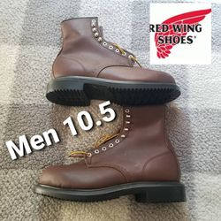 Red Wings Made In The USA steel Toe Boots Mens 10.5 for Sale in Chino Hills,  CA