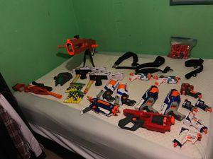 Nerf gun big bundle read full DESCRIPTION for Sale in Las Vegas, NV