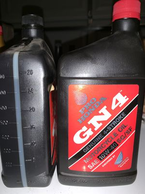Pro Honda GN4 Motorcycle Oil for Sale in Mebane, NC