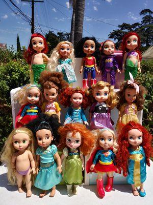 15 princess dolls for Sale in El Monte, CA