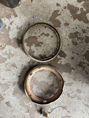 1937 1938 Buick headlight rings for Sale in Whittier, CA