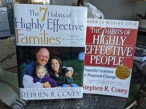 Stephen R. Covey Books The 7 Habits for Sale in Santee, CA
