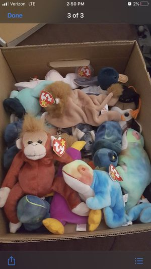Collectible Ty beanie babies for Sale in Modesto, CA