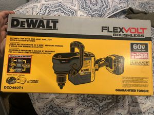 DEWALT FLEXVOLT 60-Volt MAX Lithium-Ion Cordless Brushless 1/2 in. Stud and Joist Drill with Battery 6.0ah, Fast Charger & Tool Bag for Sale in Covina, CA