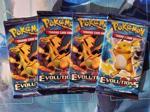 Pokemon XY Evolutions Booster Packs Unsearched Brand New Sealed $10 Each for Sale in Pomona, CA