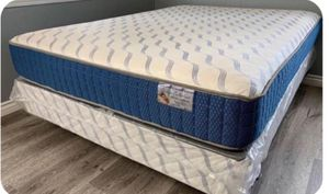 Orthopedic-Supreme-Queen Mattress With-Boxspring-Included for Sale in San Jose, CA