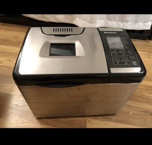 Breadman Stainless Steel Convection Bread Maker Machine for Sale in Seattle, WA