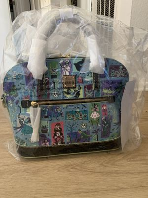 2020 Disney Dooney & Bourke Haunted Mansion Large Satchel for Sale in Tustin, CA