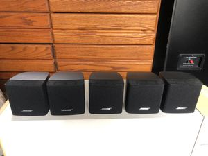 (5) bose cube speakers for Sale in Buena Park, CA