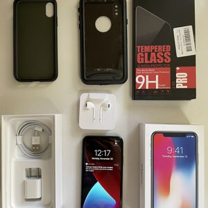 iPhone X 256gb First Gen Used With Accessories!! for Sale in Yorba Linda, CA