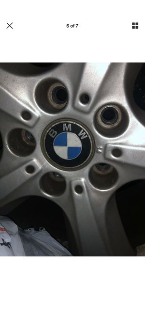 "BMW X5 OEM 18"" 255/55R18 used WHEEL & tire. for Sale in Secaucus, NJ"