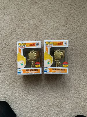 Funko POP Dragonball Z Vegeta gold for Sale in Chicago, IL