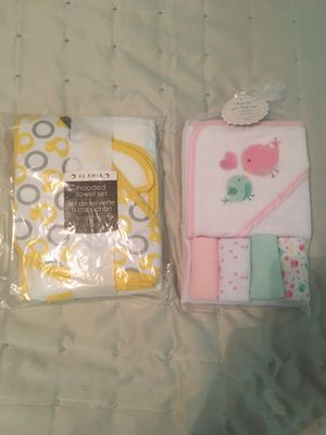 Baby bath towels for Sale in Atchison, KS