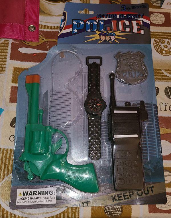 Kids Police Toys $1