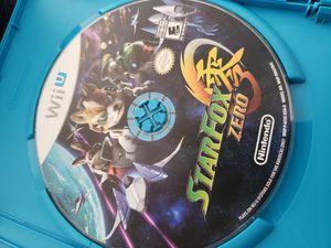 Starfox Zero and Guard two games for Nintendo Wii U for Sale in Dallas, TX