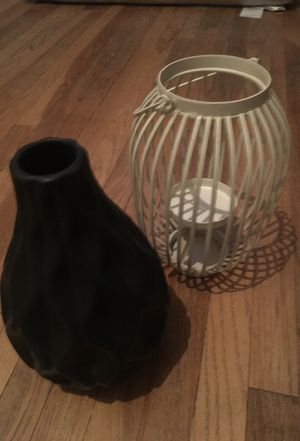 Vase and candle holder for Sale in Pomona, CA