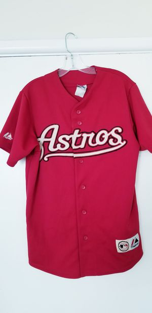 Houston Astros Medium Stitched Jersey in Excellent Condition along with a Great Price! for Sale in Braintree, MA