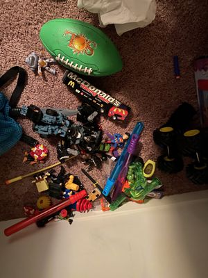 Miscellaneous toys remote control car, Nerf guns, fortnight poster for Sale in Oklahoma City, OK