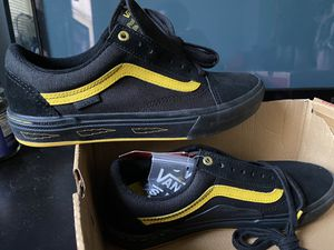 Vans Old Skool Larry Edgar BMX Pro Model Size 8 Deadstock Black and Yellow for Sale in Reisterstown, MD
