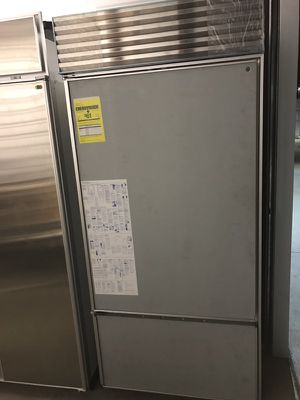 "36"" Panel Ready Sub Zero Bottom Freezer Refrigerator / Warranty / Receipt for Sale in Denver, CO"