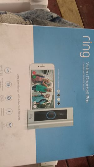 Ring video doorbell pro security system for Sale in Indianapolis, IN