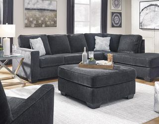 On Display 🗨️New 💐Altari Slate RAF Full Sleeper Sectional by Ashley 🌾♨️ for Sale in Greenbelt,  MD