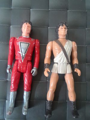 Vintage action figures Clash of the Titans and Mork for Sale in Cranston, RI