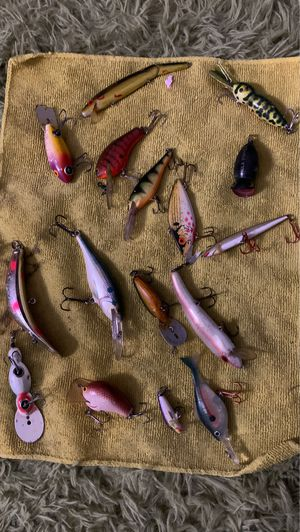 Antique fishing lures rapala and other for Sale in Sacramento, CA