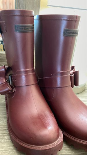 Juicy Couture rain boots for Sale in Quincy, MA