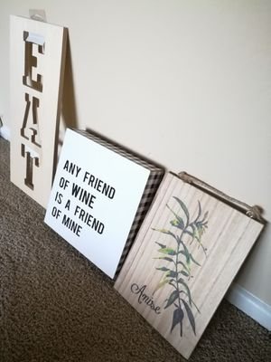 Wooden Kitchen Signs Home Decor Lot for Sale in Sunnyvale, CA