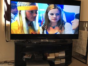 65 inch tv with sound bar and tv stand for Sale in Scottsdale, AZ