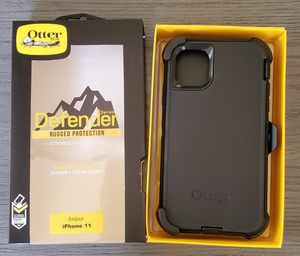 iPhone 11 Otterbox Defender Series Case with belt clip holster for Sale in Canyon Country, CA
