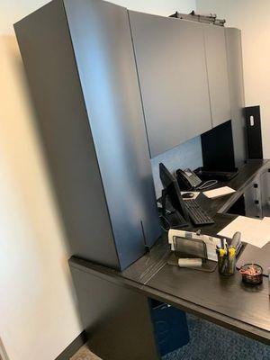 Office Desk Set L@@K L -Shape desk with Hutch. for Sale in West Park, FL