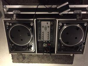 DJ/Music/Mixing equipment setup - Stanton brand for Sale in Long Beach, CA