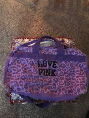 Pink Victoria's Secret gym bag , Travel bag etc. for Sale in Benbrook, TX
